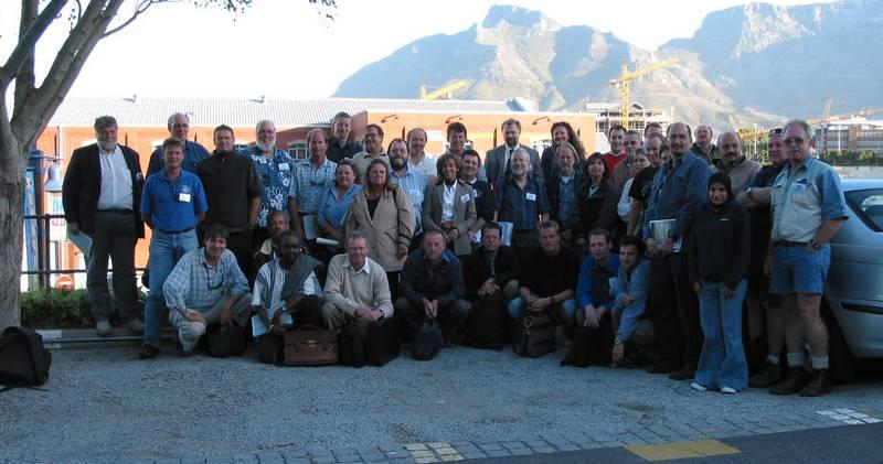 Die Teilnehmer des Kapstadt-Workshops