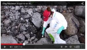 Säuberung der Strände (Screenshot von Video auf ecologistasenaccion.org)
