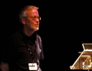 Der verdiente Conservation Award-Sieger: Erich Hoyt.
